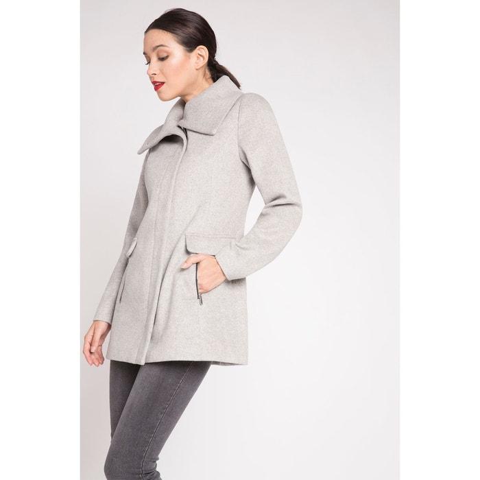 sélectionner pour dernier Los Angeles couleur attrayante Manteau long avec maxi col