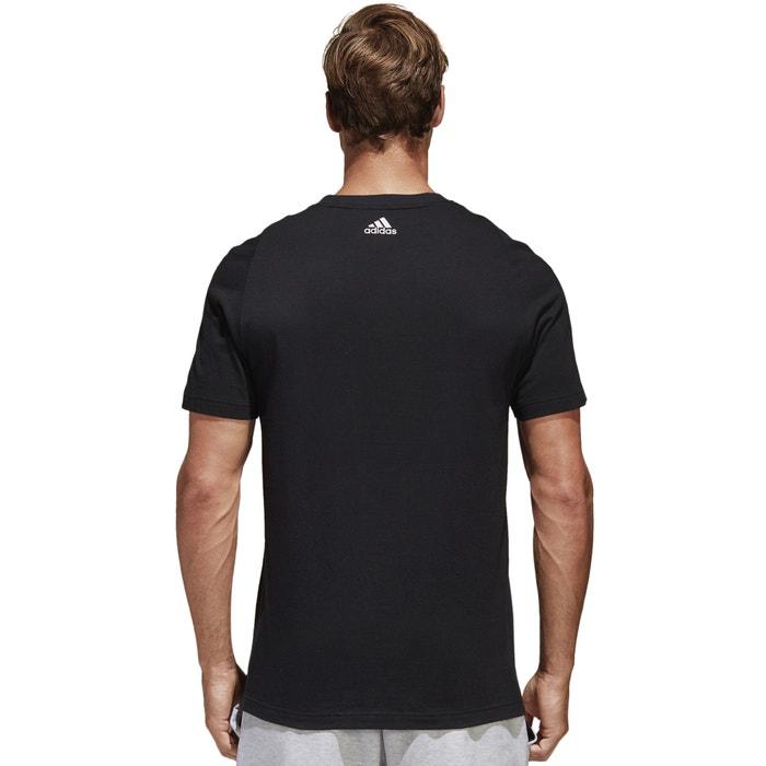 cuello Camiseta y redondo corta PERFORMANCE estampado con delante ADIDAS de manga U7txwAq5