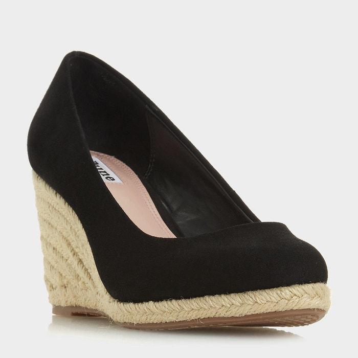 Chaussures façon espadrille à talons compensés - annabela  Dune London  La Redoute