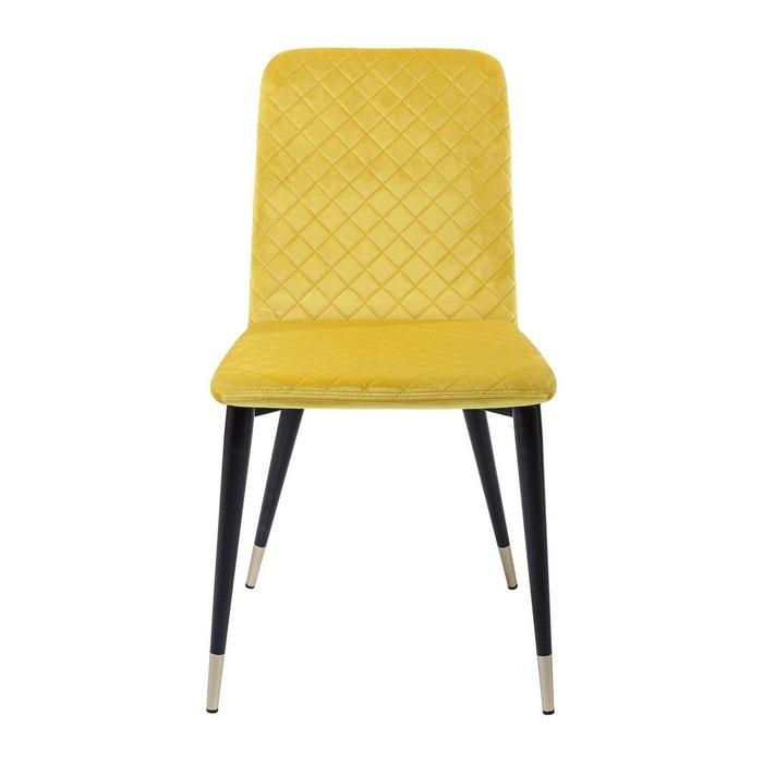 Chaise montmartre jaune kare design jaune kare design la for Chaise jaune design