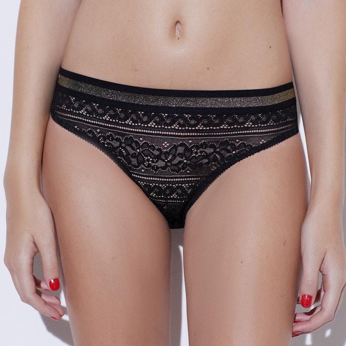 Cuecas de cintura subida em renda de França  Sophie Malagola x La Redoute image 0