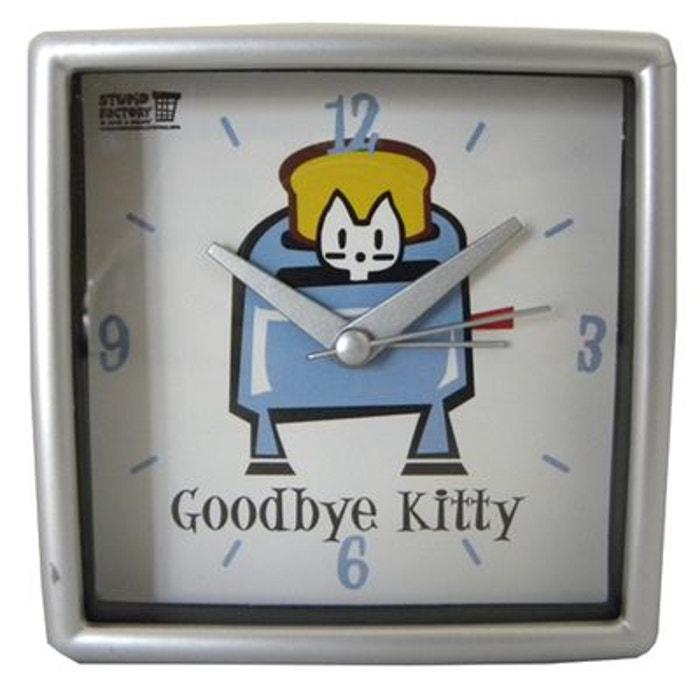 Réveil matin alarme Goodbye Kitty ALPAC