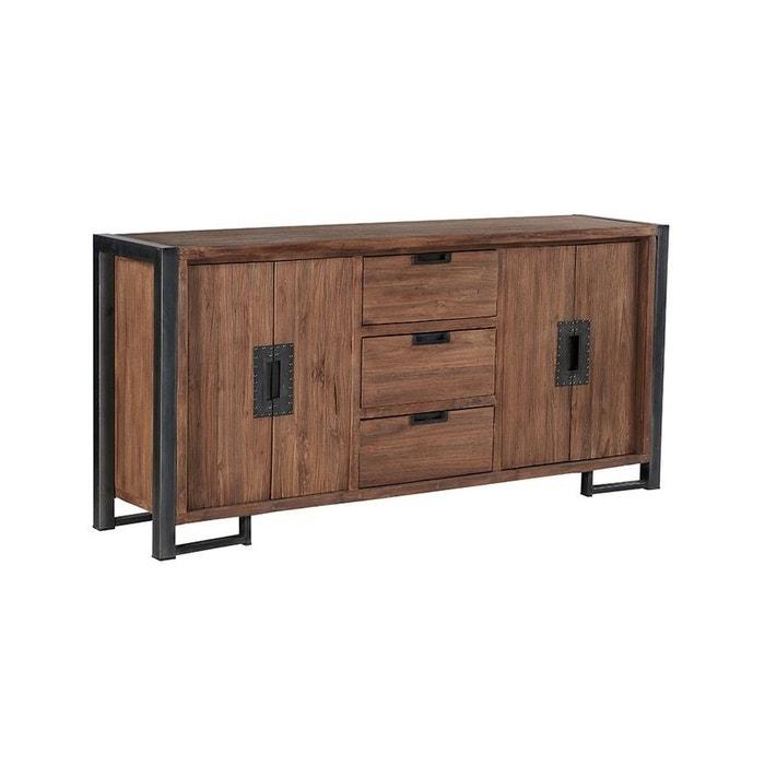 enfilade en teck naturel l186cm canada naturel pier import la redoute. Black Bedroom Furniture Sets. Home Design Ideas