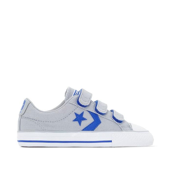 3b1a703e1d52b Baskets star player ev 3v canvas gris bleu Converse