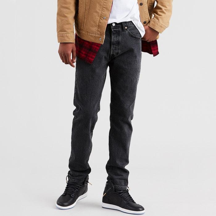 5b0cbc8c 501 timberlake slim fit jeans , washed black jt, Levi's | La Redoute