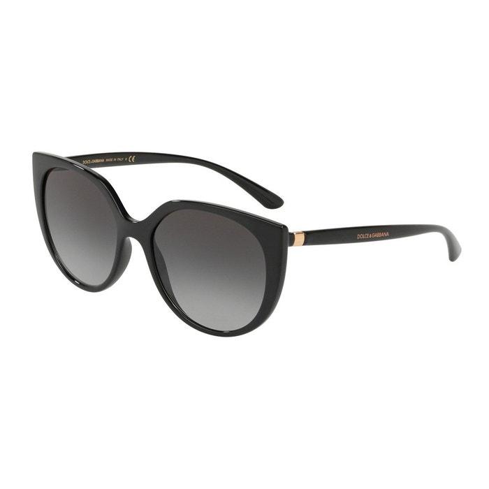 21ad9e6809fbe1 Lunettes de soleil dg6119 noir Dolce Gabbana   La Redoute