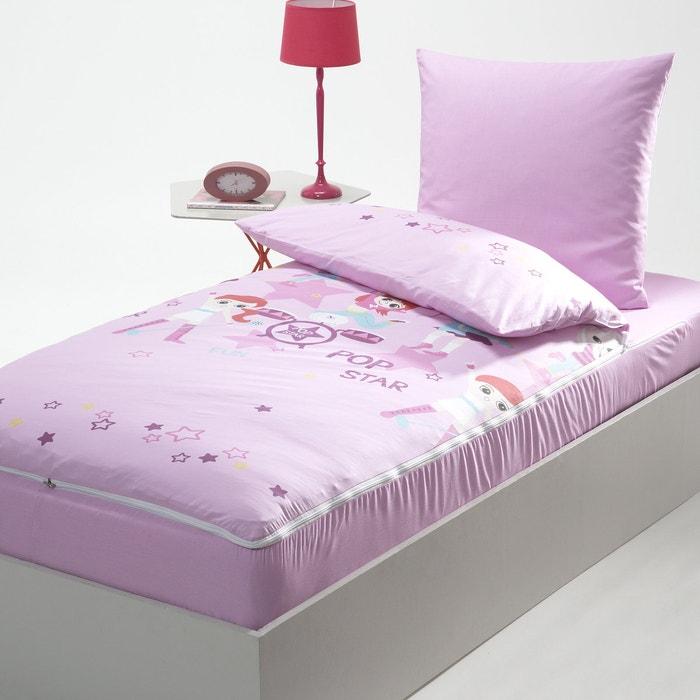 caradou sans couette pr t dormir pop star la redoute interieurs imprim rose la redoute. Black Bedroom Furniture Sets. Home Design Ideas