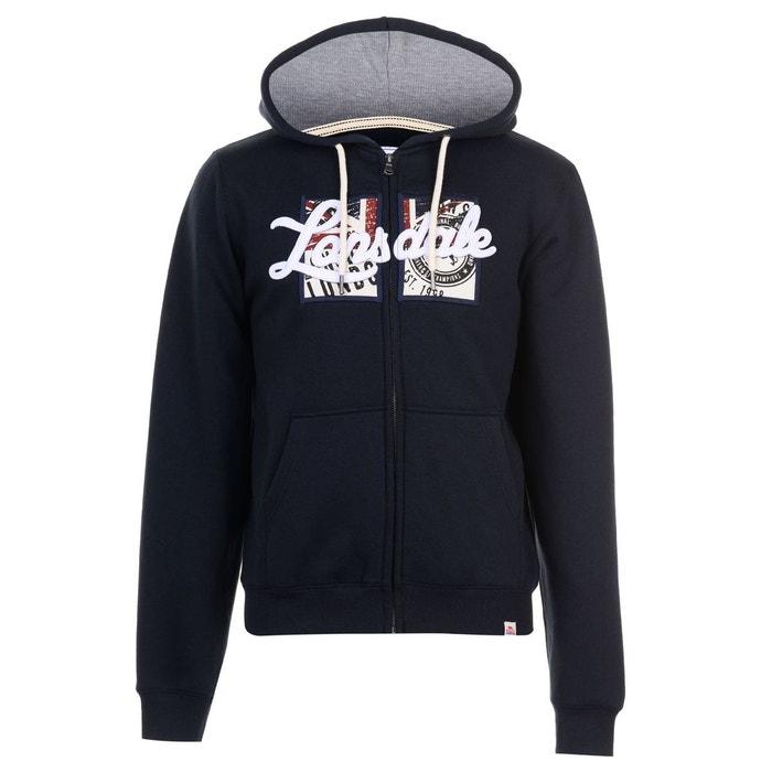 Lonsdale London Hommes Veste Sweater Gris Bleu Toutes Tailles Neuf Avec Étiquette