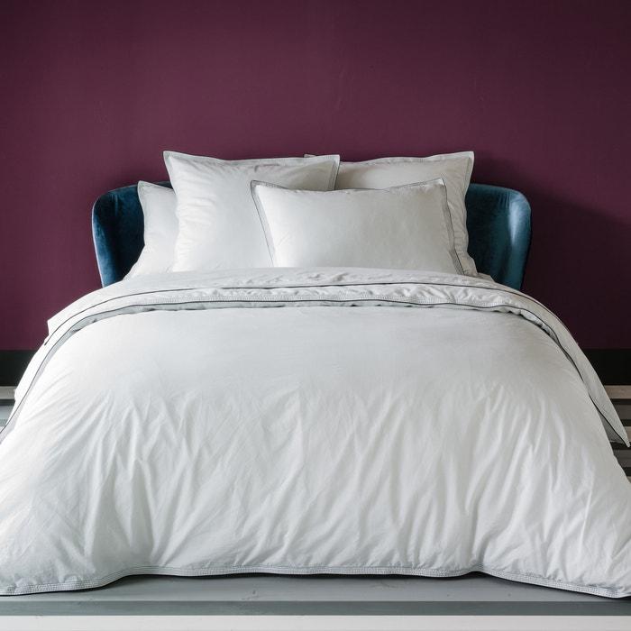 housse de couette unie en percale lav e maison sarah lavoine la redoute. Black Bedroom Furniture Sets. Home Design Ideas