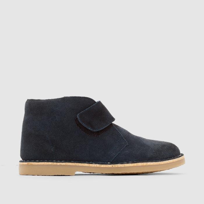 фото Ботинки кожаные с застежкой на планки-велкро R essentiel
