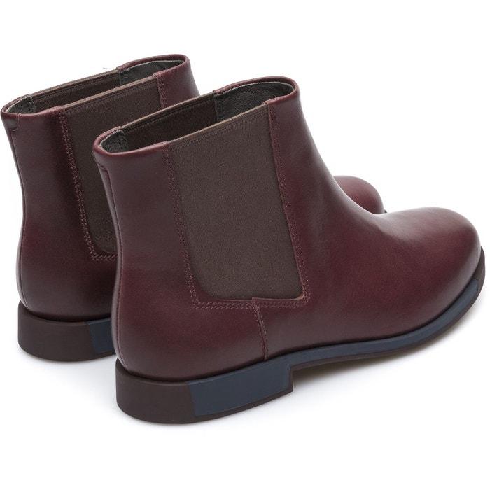 Bowie k400023-007 bottes femme bourgogne Camper