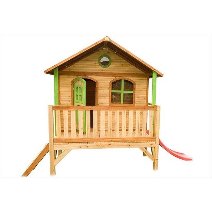 grande cabane enfant sur pilotis stef bois brut axi la redoute. Black Bedroom Furniture Sets. Home Design Ideas