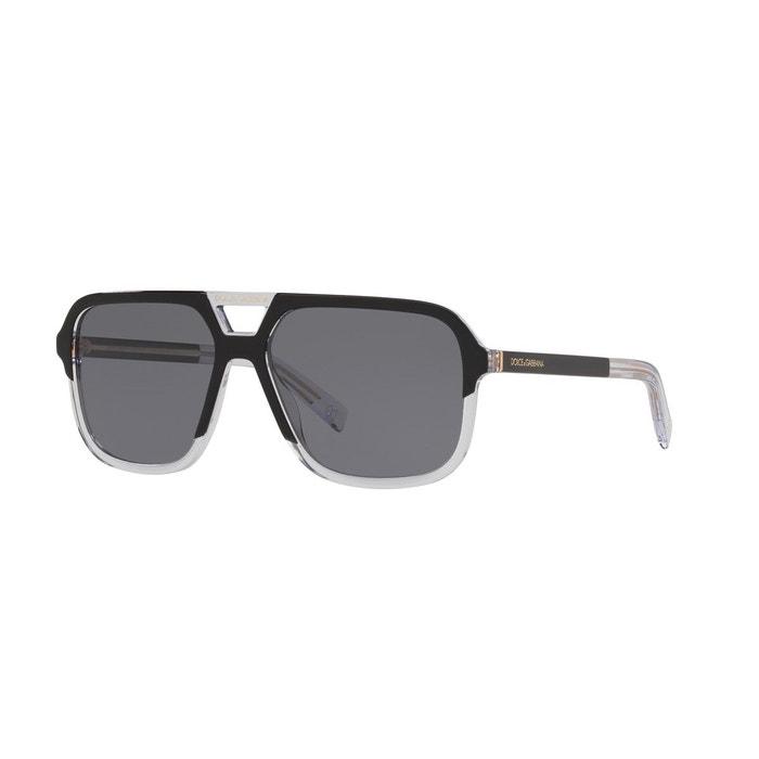 0470d68d0e Lunettes de soleil polarisées dg4354 noir Dolce Gabbana   La Redoute