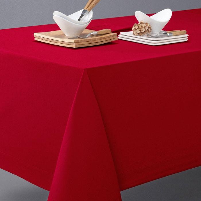nappe en m tis border la redoute interieurs rouge groseille la redoute. Black Bedroom Furniture Sets. Home Design Ideas