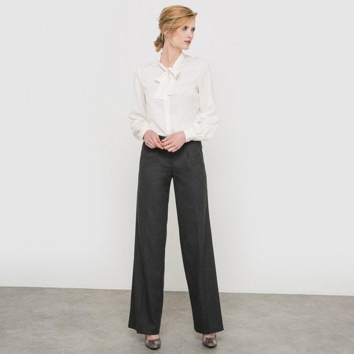 Image Pantaloni larghi in flanella atelier R
