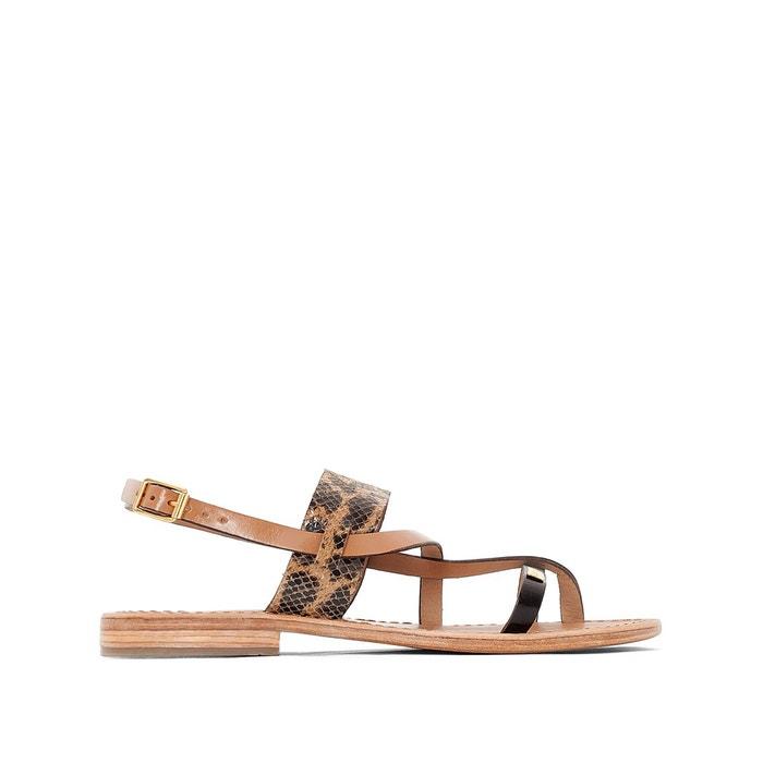 Sandales cuir Baule LES TROPEZIENNES par M BELARBI