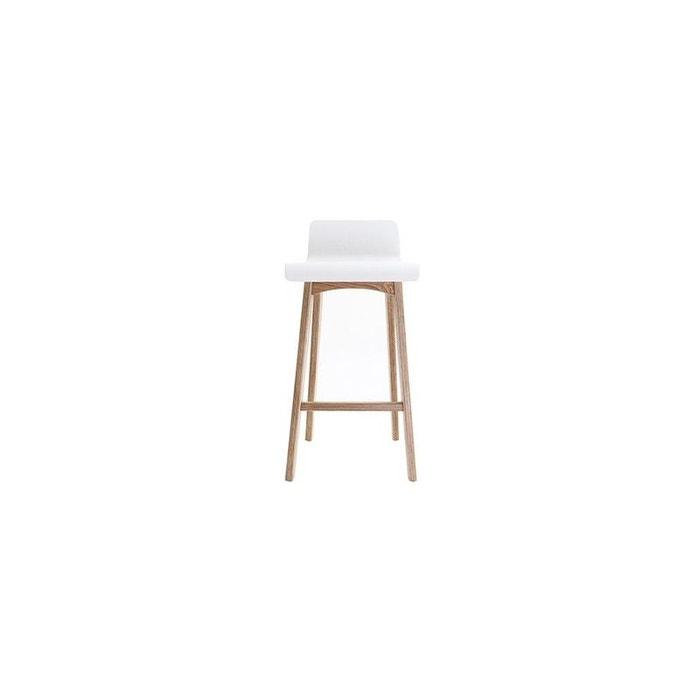 tabouret de bar baltik chaise de bar 65cm miliboo la redoute. Black Bedroom Furniture Sets. Home Design Ideas