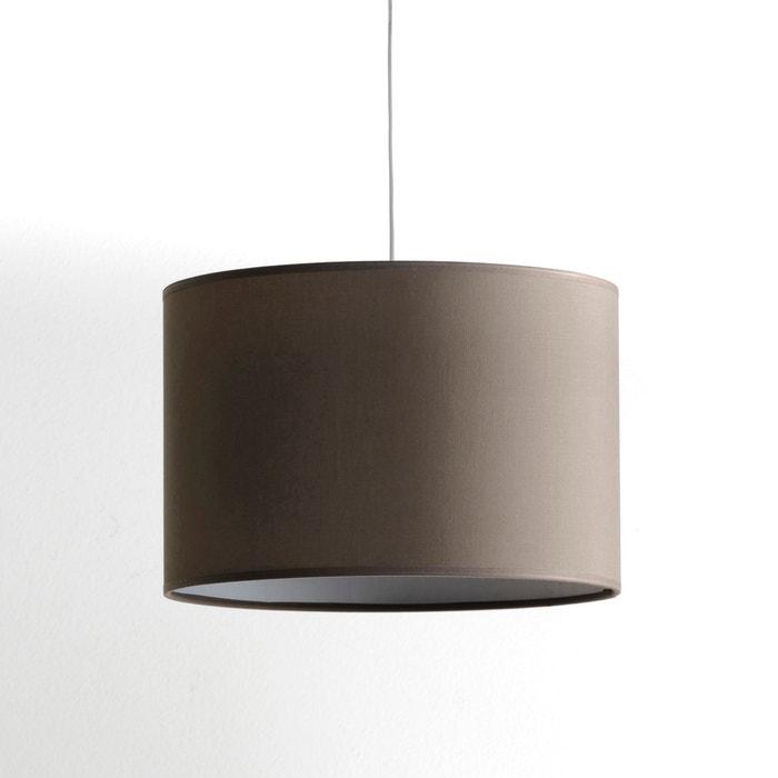suspension ou abat jour 45 cm falke taupe la redoute interieurs la redoute. Black Bedroom Furniture Sets. Home Design Ideas