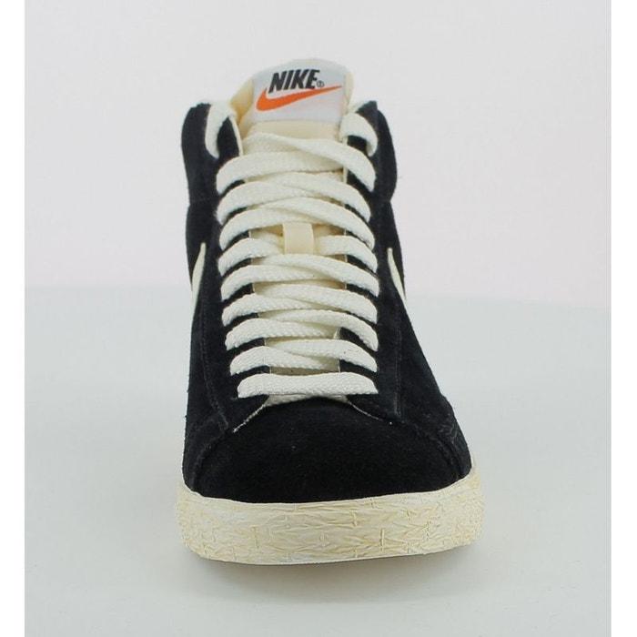 bbb792a2e4f Basket nike blazer high suede - 375722-001 noir Nike
