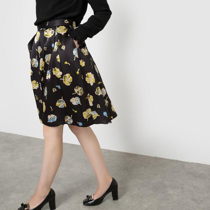 Image Floral Print Circle Skirt MADEMOISELLE R