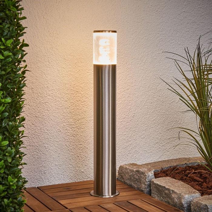 Luminaire pour socle belen en inox avec led inox transparent lampenwelt la - La redoute luminaire ...