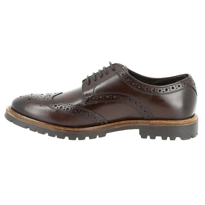 Chaussures à lacets base london trench marron Base London