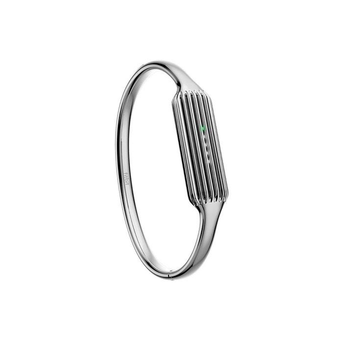Bracelet bijoux coloris argent Fitbit flex 2