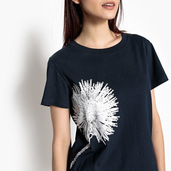 243;n de con La le estampado diente Camiseta Redoute Collections qfwfY8Z