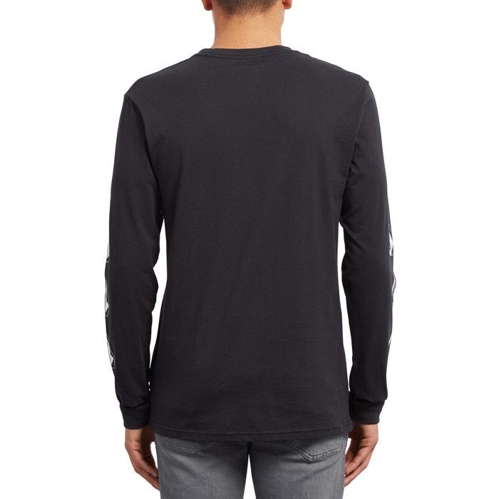 y con DEADLY cuello manga STONE redondo Camiseta larga VOLCOM aqtYn