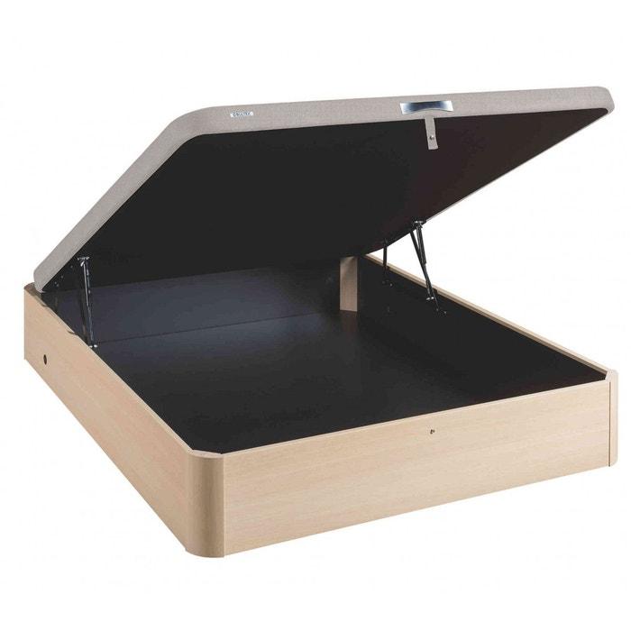 sommier lit coffre en kit bouleau bultex asteroid bois naturel bultex la redoute. Black Bedroom Furniture Sets. Home Design Ideas