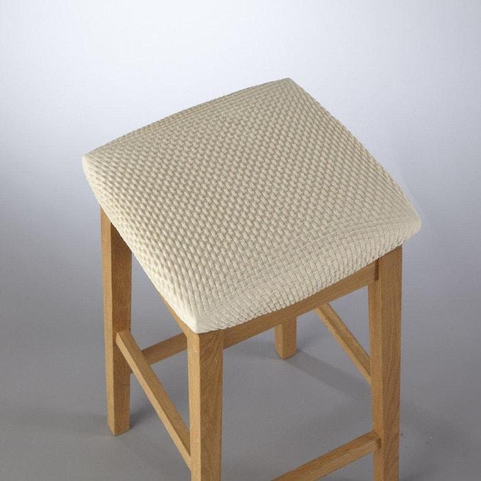 Image Coprisedia elasticizzato per sgabello goffrato, AHMIS La Redoute Interieurs