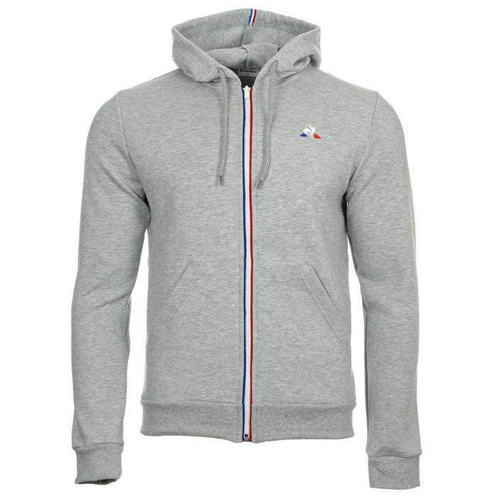 539a784653e Sweat zippé à capuche ess fz hoody n°1 gris Le Coq Sportif