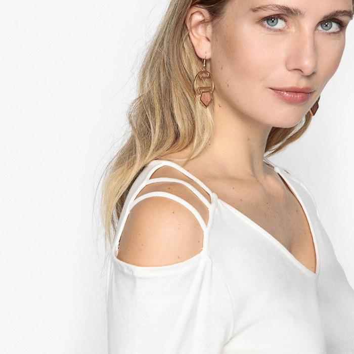 ANNE y lisa de manga larga WEYBURN cuello Camiseta con pico g1n7rgqS