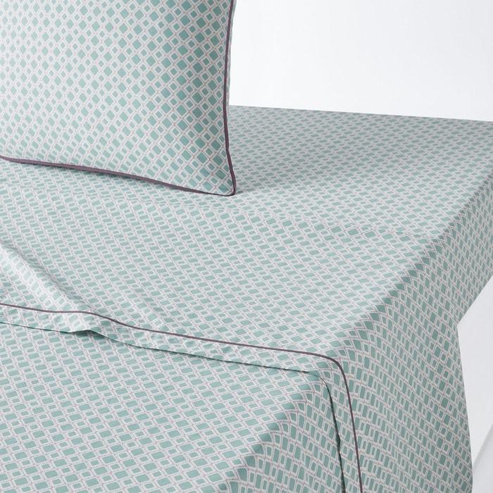 drap plat pur coton mashita la redoute interieurs la redoute. Black Bedroom Furniture Sets. Home Design Ideas