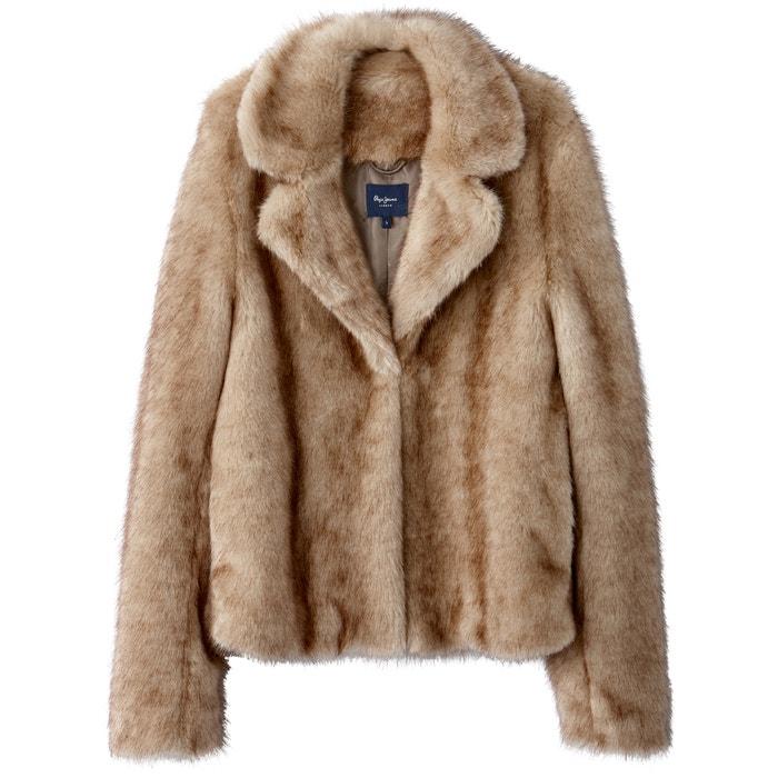 Cappotto con pelliccia sintetica  PEPE JEANS image 0