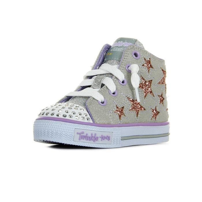 SKECHERS Baskets Shuffles Lil Rockin Stars Chaussures Bébé Fille FwYAulQe0Z