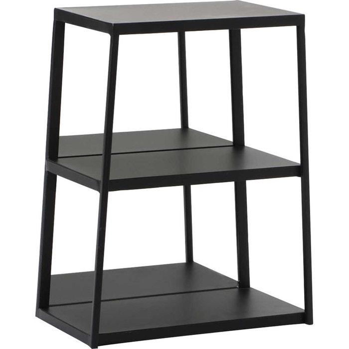 etagere 3 niveaux en m tal noir amadeus la redoute. Black Bedroom Furniture Sets. Home Design Ideas