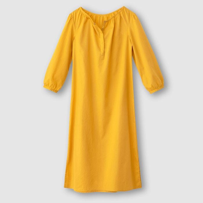Vestido em voile de algodão R édition