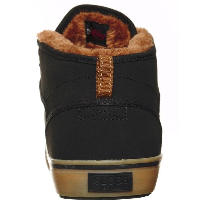 Chaussure motley mid - fur lined noir Globe