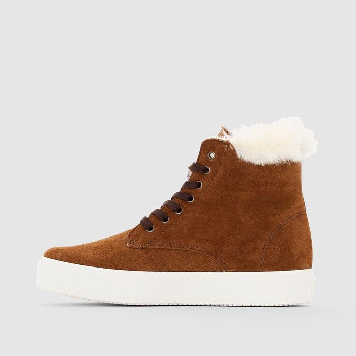 Baskets montantes bota bluchez serraja marron Victoria