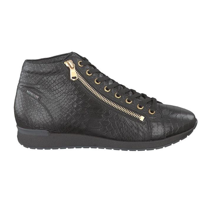 Boots nolwenn noir Mephisto Vente Meilleur Endroit 4IVysn