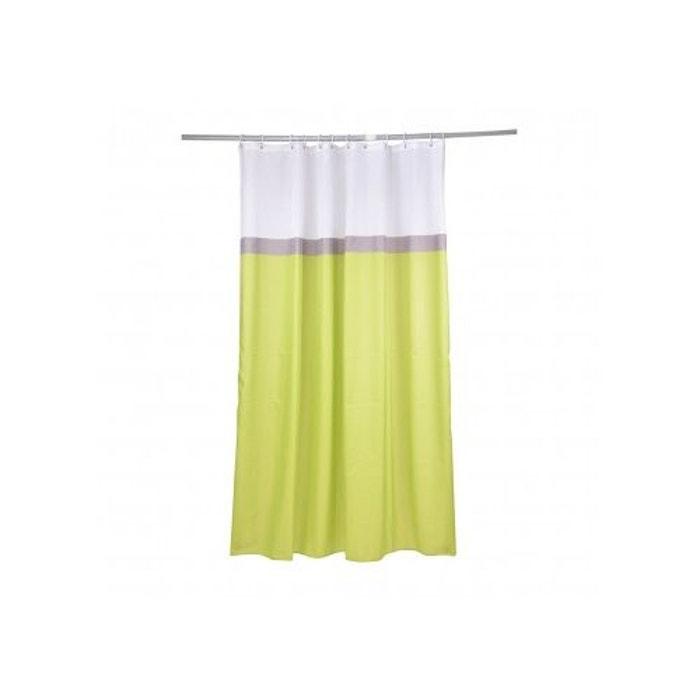 rideau de douche en 3 coloris hanoi home bain la redoute. Black Bedroom Furniture Sets. Home Design Ideas