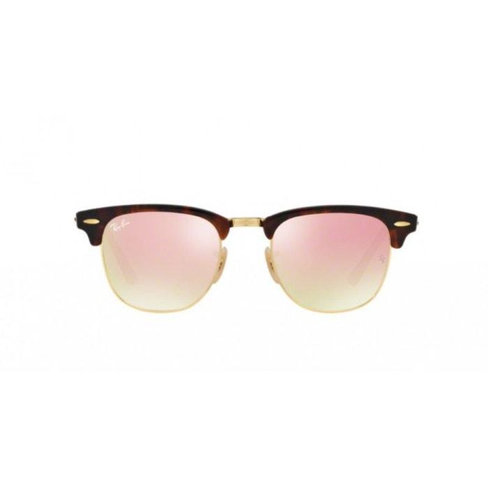 409ce50e4f7233 ... mixte modèle clubmaster a529d ea243 spain lunettes de soleil pour homme ray  ban ecaille rb 3016 clubmaster 990 7o 49 87aba ...