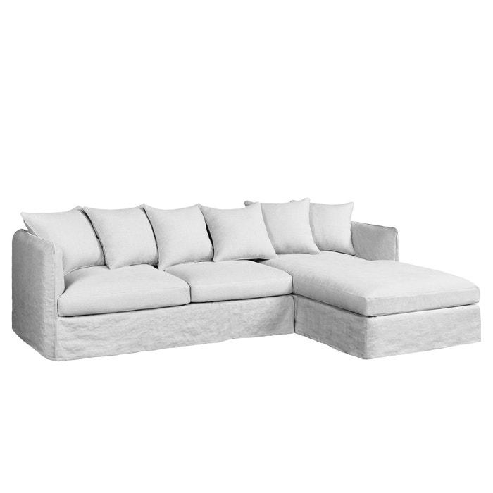 canap d angle fixe neo chiquito lin froiss am pm la. Black Bedroom Furniture Sets. Home Design Ideas
