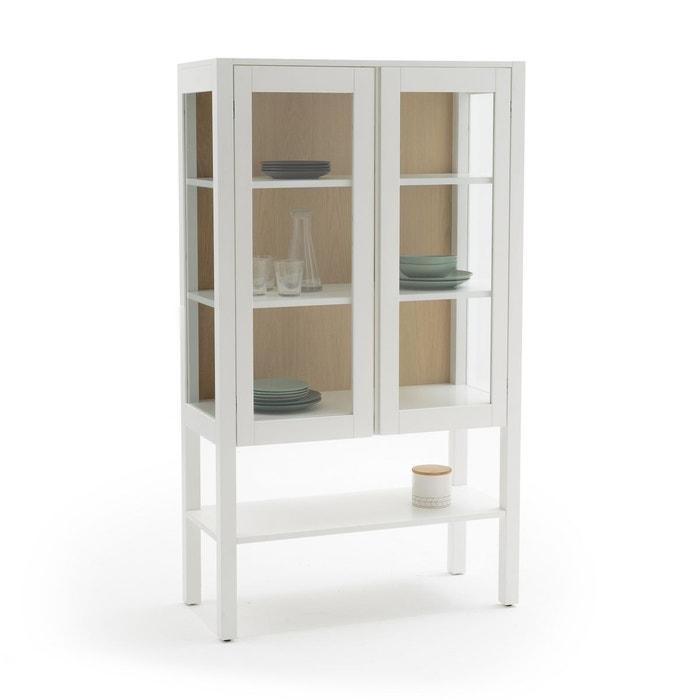 vitrine vaisselier adelita blanc la redoute interieurs la redoute. Black Bedroom Furniture Sets. Home Design Ideas