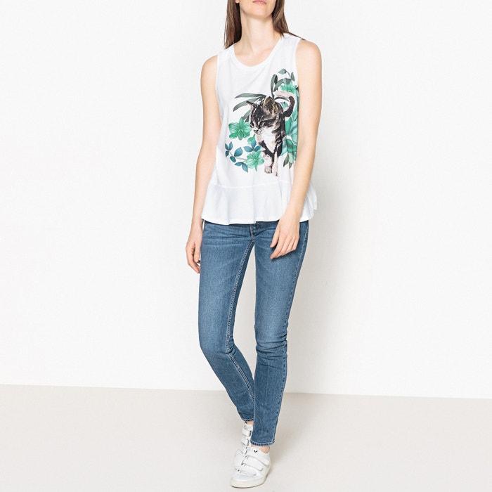 T-shirt senza maniche con volant e stampa PASSION  PAUL AND JOE SISTER image 0