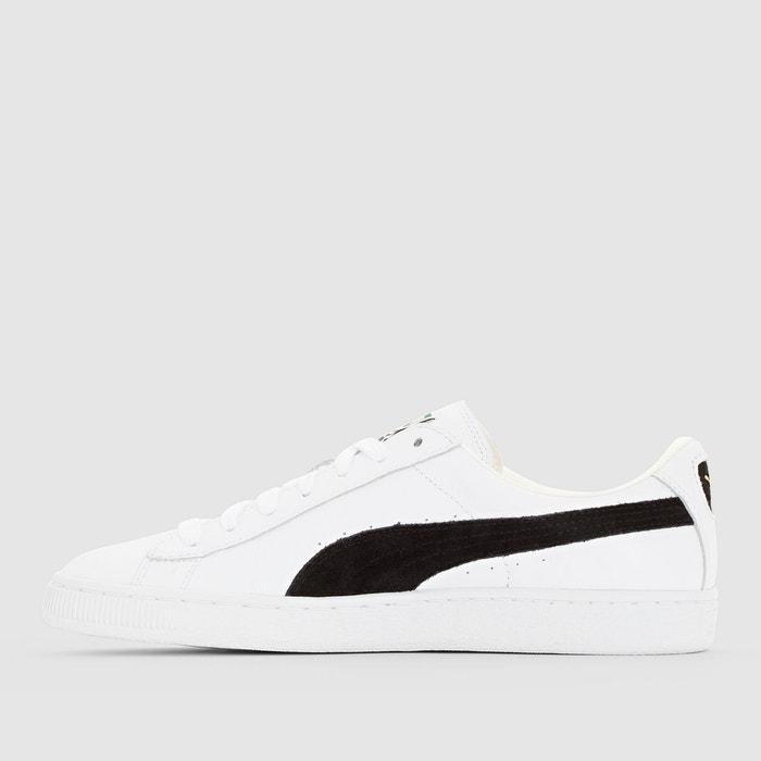 Basket classic blanc/noir Puma