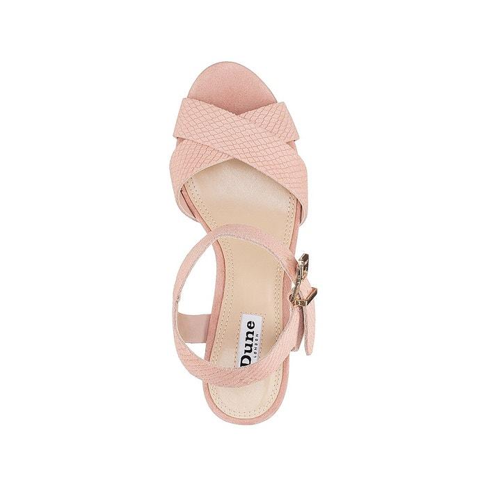 Sandales à talon et plateau iyla Dune London