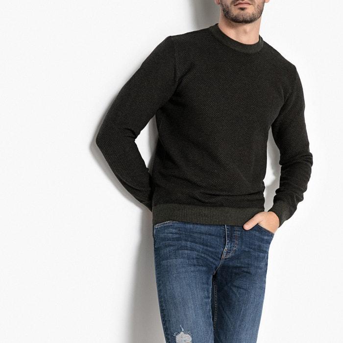 Pull con scollo rotondo in maglia grossa  La Redoute Collections image 0