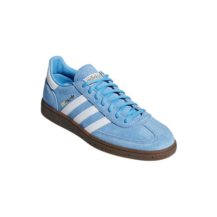 ae960d7b147 Chaussures handball spezial bleu clair blanc gomme Adidas Originals ...